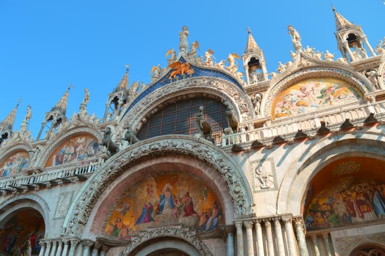 piazza san marco basilica venezia venice italy church historical travel architecture
