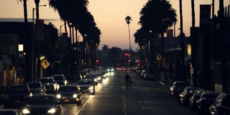 Venice beach scene scenery will arnett flaked netflix los angeles california evening V
